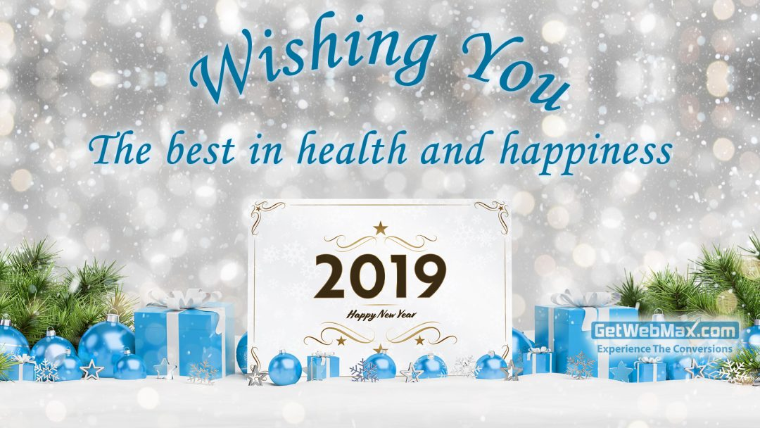 Wishing you the best in health and happiness in 2019