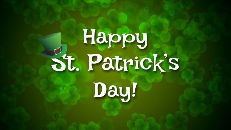 Happy St Patricks Day!